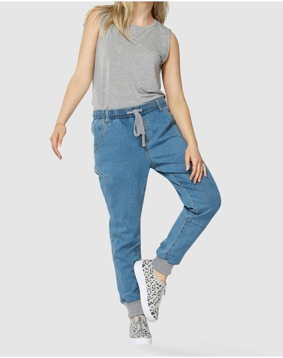 Betty Basics - Zander Drop Jeans