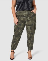 Sunday In The City - So Fly Camo Cargo Pants