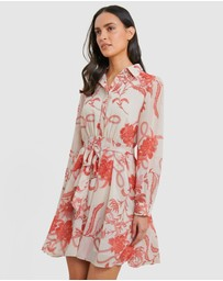 Forcast - Kairi Floral Sleeve Dress