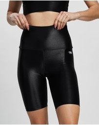 Running Bare - Ab Tastic Spin Class Bike Tights