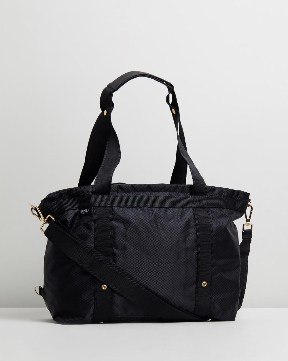 ANDI New York The Andi Backpacks Diamond Black & Gold