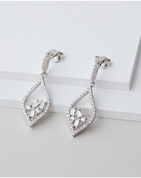 Michael Hill - Floating Earrings with Cubic Zirconia