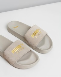 Puma - Leadcat Suede Slides - Women's
