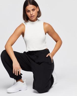 AERE Organic Cotton Sweat Pants - Sweatpants (Black)