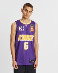 First Ever - NBL - Sydney Kings 19/20 Authentic Home Jersey - Andrew Bogut