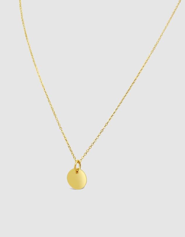 Women Golden Pendant Necklace