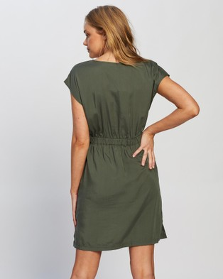 Patagonia June Lake Dress - Dresses (Kale Green)