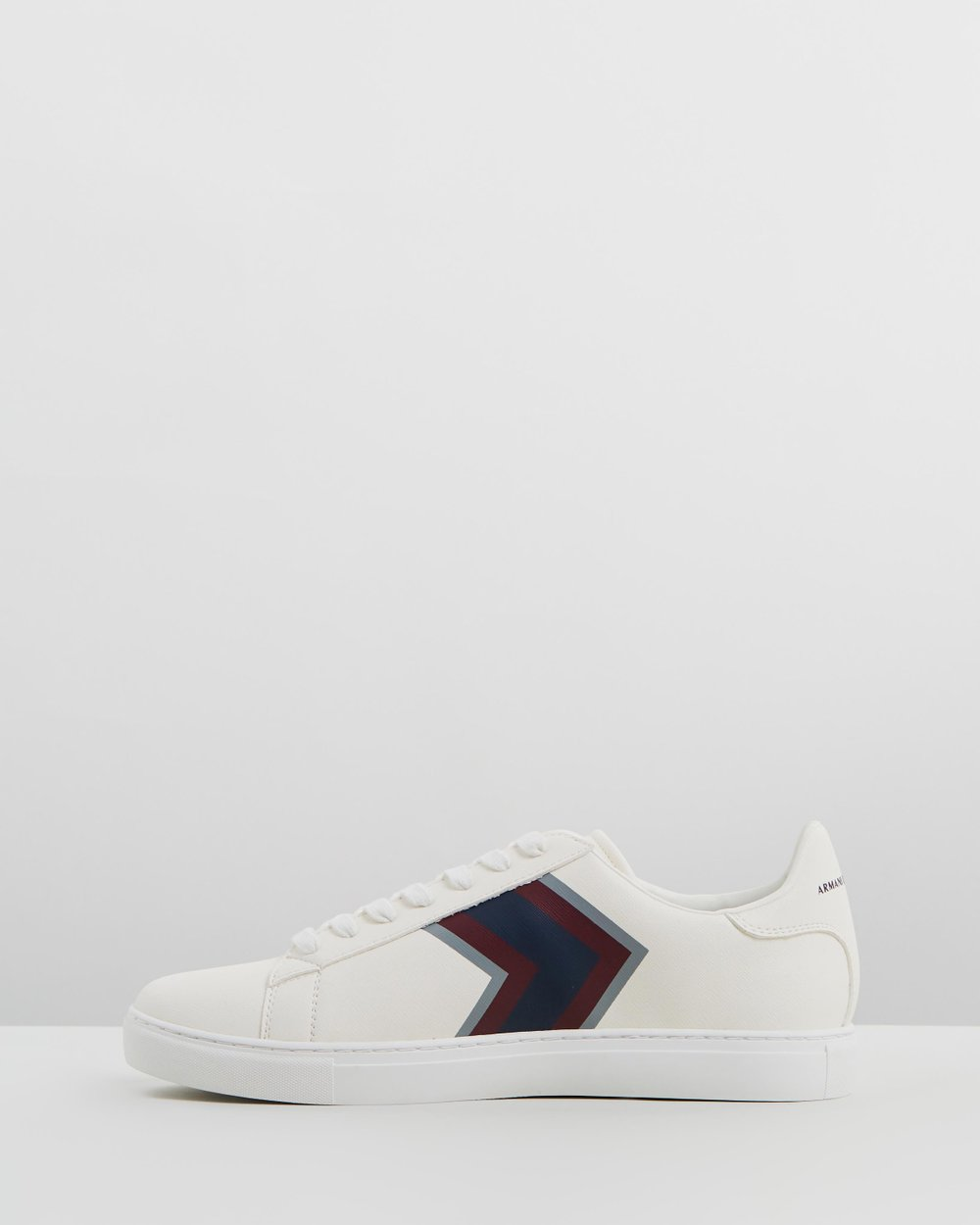 Chevron Lace Up Sneakers by Armani Exchange Online   THE ICONIC   Australia 627c9a6556f