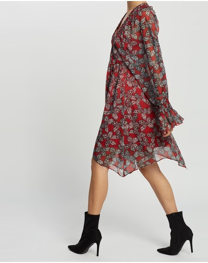 Grace Willow Carrie Dress Butterfly Print