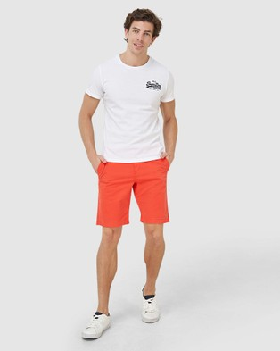 Superdry International Chino Short - Chino Shorts (Grenadine)