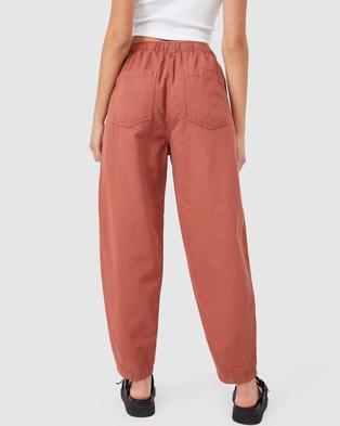 Cotton On Everyday Pants - Pants (Warm Bronze)