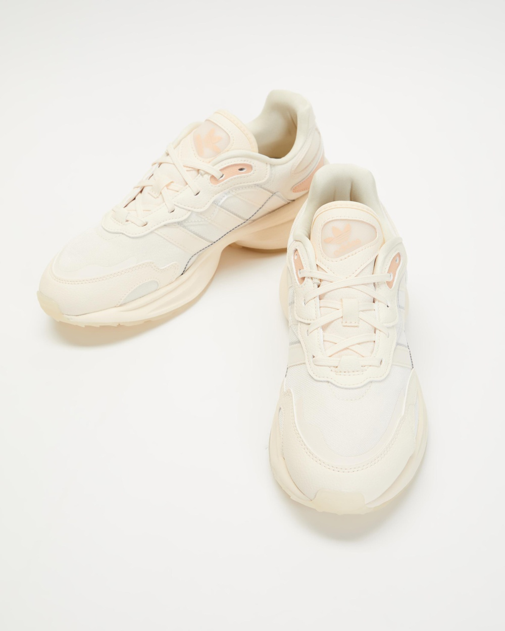 adidas Originals Zentic Women's Lifestyle Sneakers Wonder White & Halo Blush