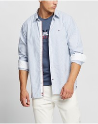 Tommy Hilfiger - Organic Oxford Stripe Shirt
