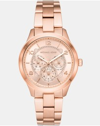 Michael Kors - Runway Rose Gold-Tone Analogue Watch