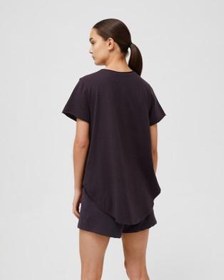Jac & Mooki - Kendall Tee - T-Shirts & Singlets (vintage black) Kendall Tee