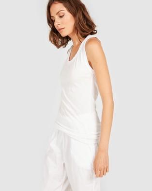 Primness Coasty Tank - T-Shirts & Singlets (White)