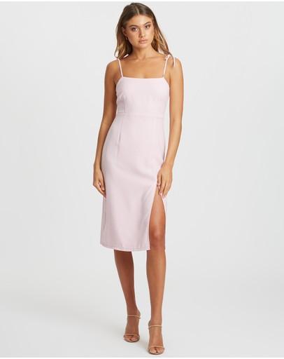Calli Kiara Midi Dress Dusty Pink