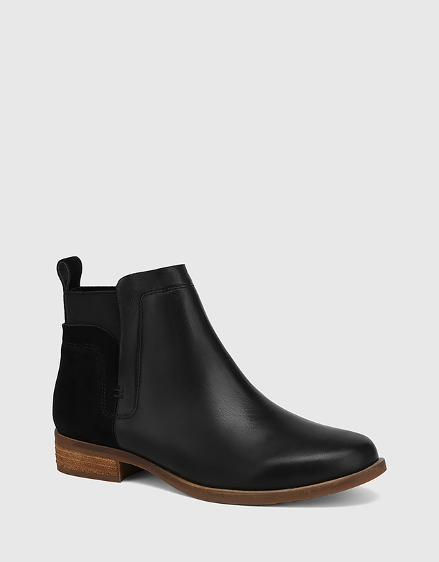 Women Conagh Leather And Suede Ankle Boots
