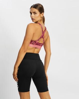 adidas Performance Believe This Medium Support AOP Bra - Crop Tops (Hazy Rose & Print)