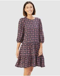 French Connection - Boho Floral Dress