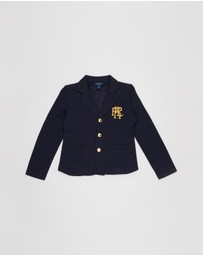 Polo Ralph Lauren - Knit Cotton-Blend Blazer - Teens