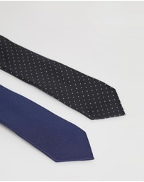 Jeff Banks - Ivy League Twin Tie Gift Pack