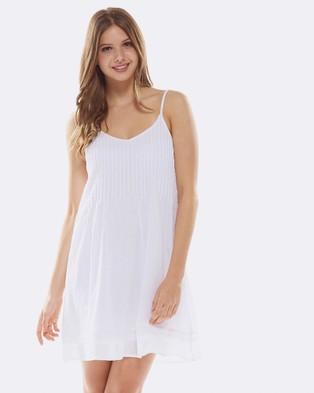 Deshabille – Belize Dress White White