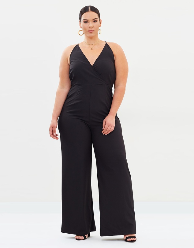 270e269d9bc5 ICONIC EXCLUSIVE - Holland Halter Jumpsuit by Atmos Here Curvy Online