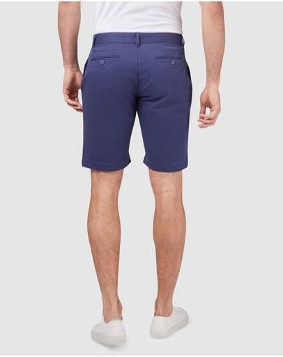 Blazer Stretch Twill Shorts Faded Blue