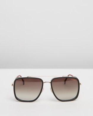 Carrera - 207 S Square (Red & Gold) 207-S