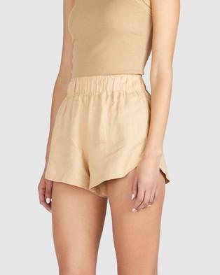 Chosen By Tuchuzy Andy Runner Short - Shorts (Brown)