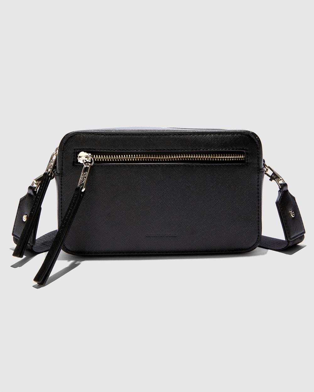 Country Road Branded Camera Bag Bags black