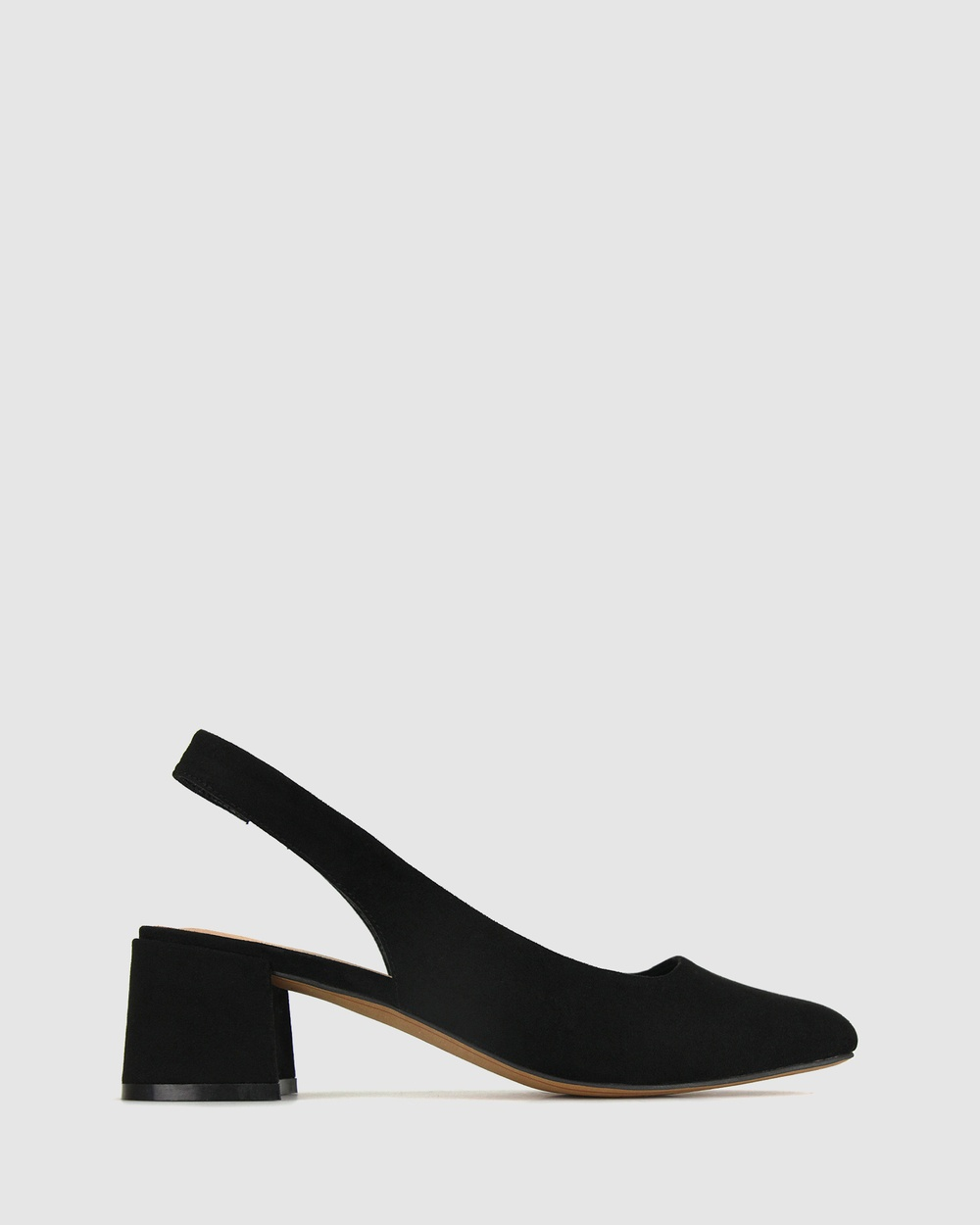 Betts Scout Sling Back Pumps All Black
