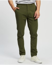 Staple Superior - Staple Organic Cotton Casual Chino Pants