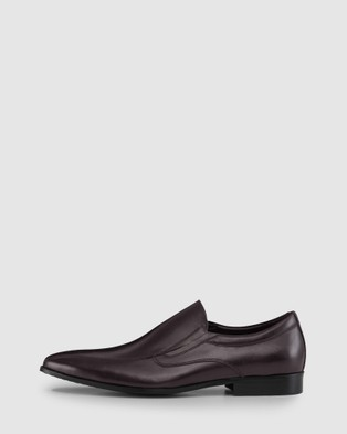 AQ by Aquila Houlahan Slip On Shoes - Dress Shoes (Brown)
