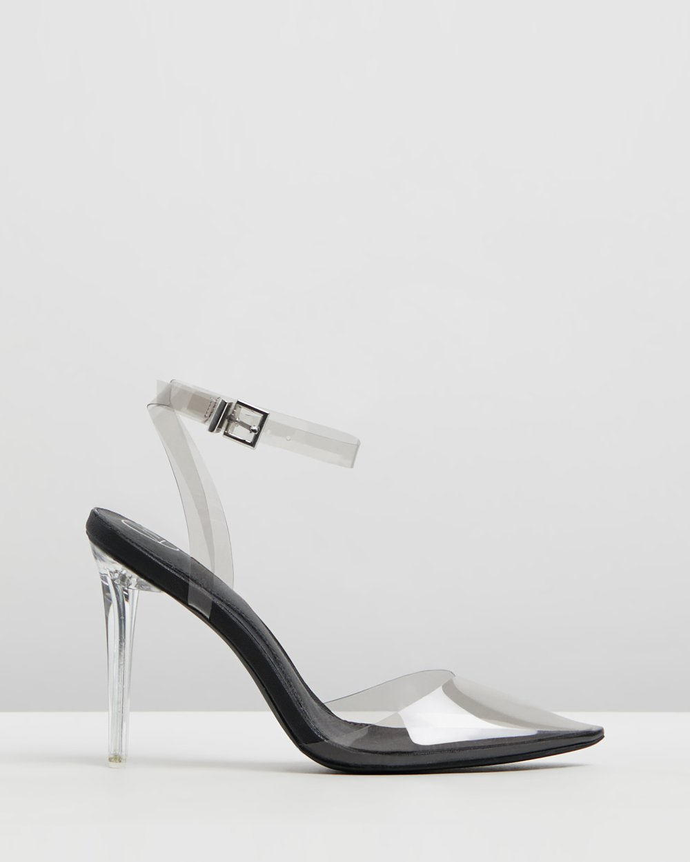 4410a4fddc Clear Court Shoe Heels by Missguided Online | THE ICONIC | Australia