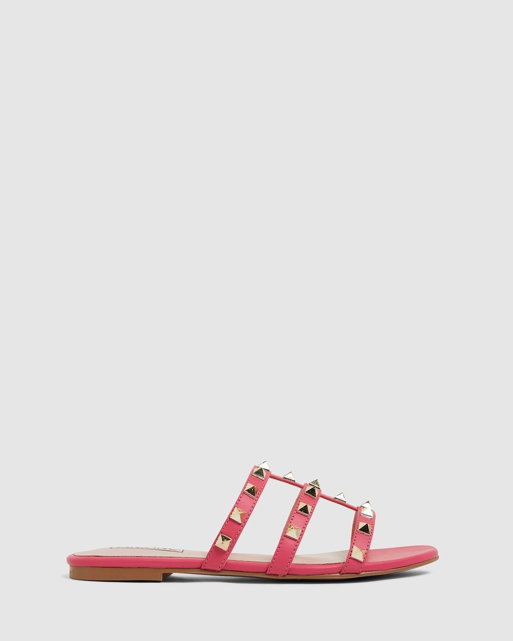 Pink Inc Spain Sandals PINK