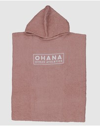 Ohana - Youth Hooded Towel