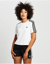 adidas Performance - Winners 3-Stripes Crop Tee