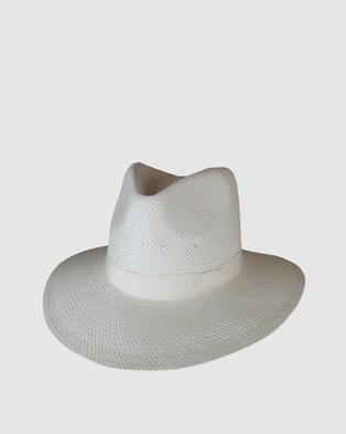 Ace Of Something Pesaro Fedora - Hats (Ivory)