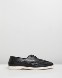 Staple Superior - San Francisco Woven Lace-Up Shoes