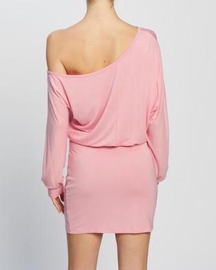 Atmos&Here Rhona Mini Dress - Bodycon Dresses (Soft Pink)
