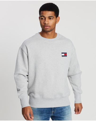 Tommy Jeans - Tommy Badge Terry Crew Sweater