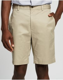 BROOKS BROTHERS - Lightweight Advantage Plain Front Shorts