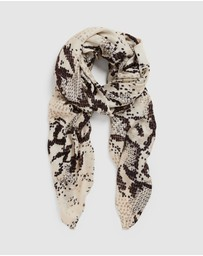French Connection - Snake Scarf