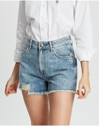 DRICOPER DENIM - Tatiana High-Waisted Shorts