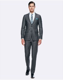 BELL & BARNETT - Geoffrey Grey Slim Fit Wool Suit