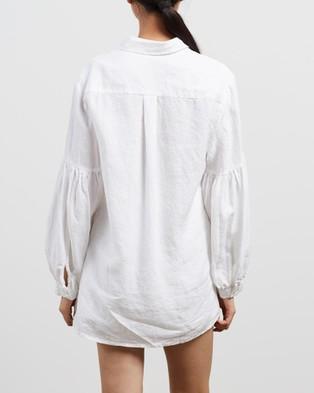 Des Sen Corbusier Shirt - Tops (Blanca)