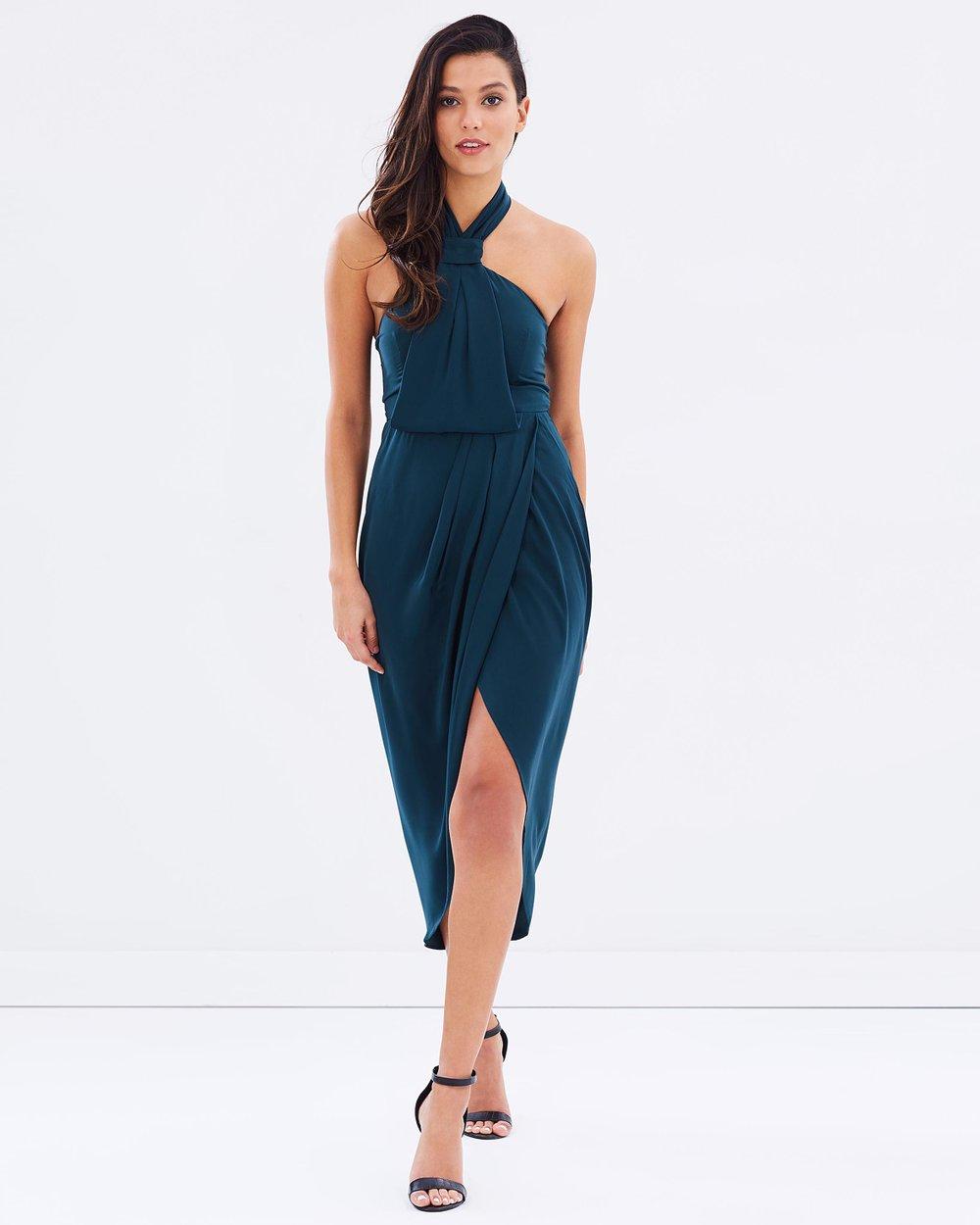 cf57c7077b8 Core Knot Draped Dress by Shona Joy Online