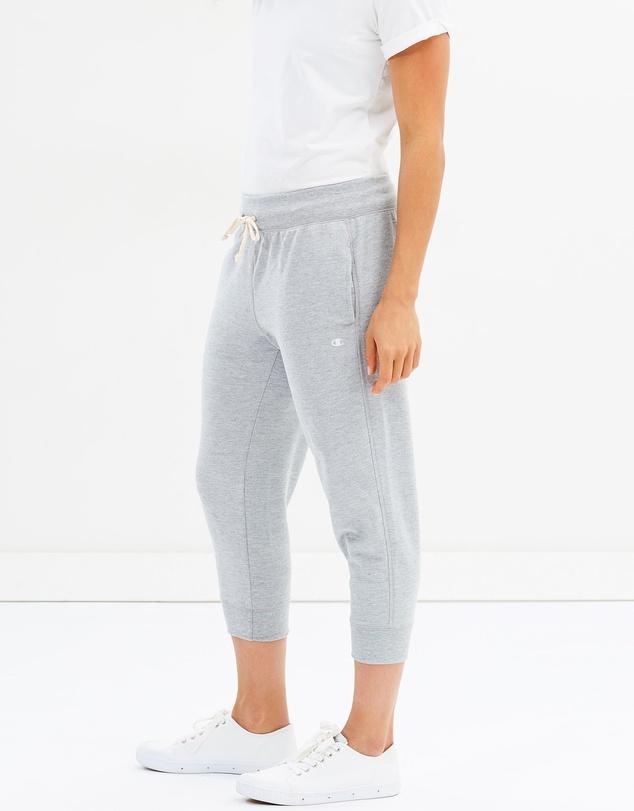Women French Terry Capri Pants